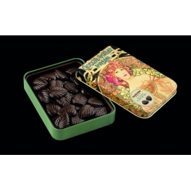 Hojas Finas 70% Cacao con Flor de Sal