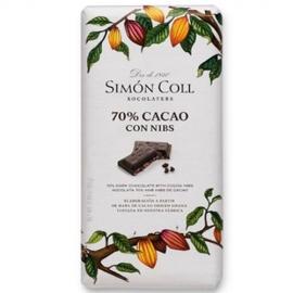 Chocolate 70% con Nibs 85g